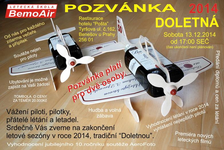 Pozvánka na DOLETNOU2014